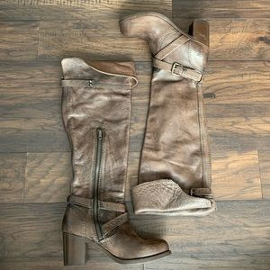 """NWOT Frye """"Kelly"""" Over the knee boots"""